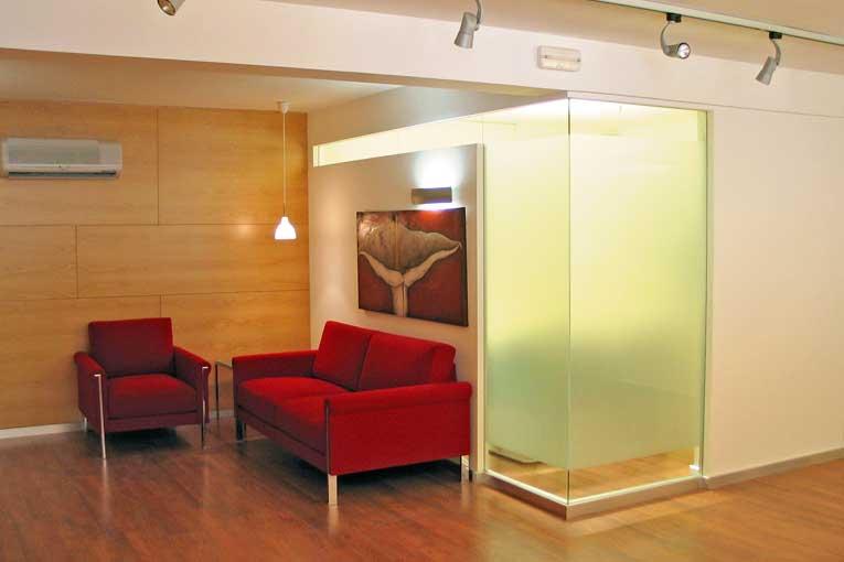 Interiorismo oficinas - Proyecto Asesoría Ferrer Melia - IDE Interiorismo