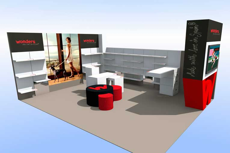Diseño stands Alicante - Stand Wonder